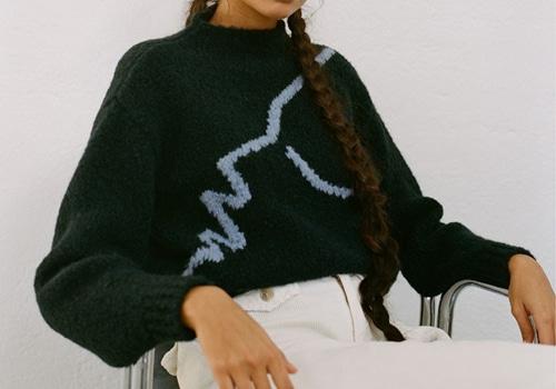 앨리스셀렉션 Alice Selection Paloma Wool Virgo Sweaterdark Green