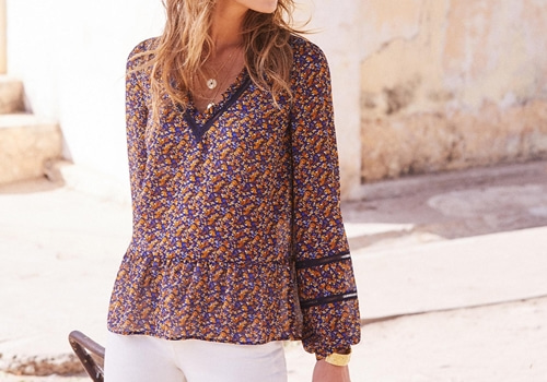 [Sezane]Angelina blouse