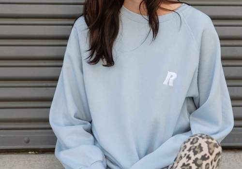 [RAGDOLL L.A] OVERSIZED SWEATSHIRT Light BLUE