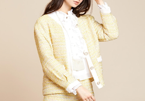 [SISTER JANE]Hey Honey Tweed Jacket