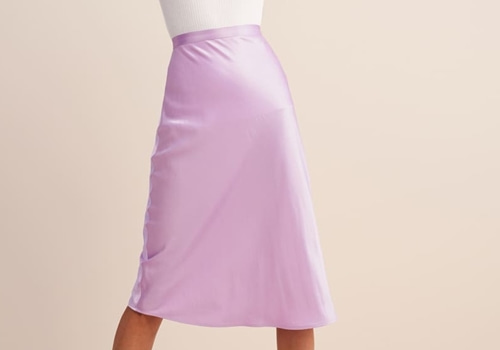 [ROUJE]CARRIE SKIRT_LILAC