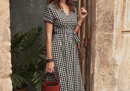[Sezane]Marielle dress_GINGHAM