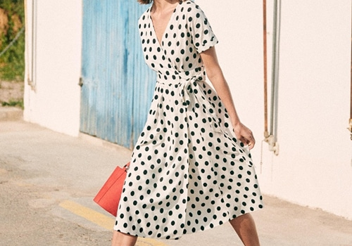 [Sezane]Marielle dress_BLACK DOTS