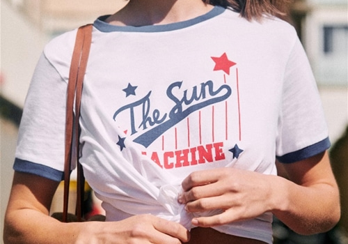 [Sezane]T-Shirt The Sun Machine
