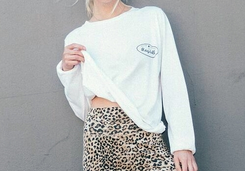[RAGDOLL L.A] LONG SLEEVE TEE Optic White