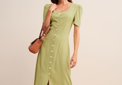 [ROUJE]MATHILDA dress_LIME