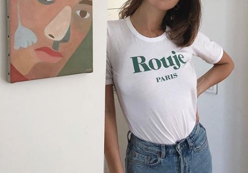 [ROUJE]LOUIS t-shirt_GREEN