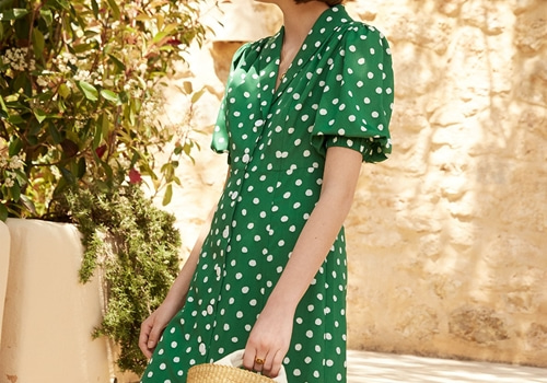 [KITRI]Siena Polka Dot Tea Dress