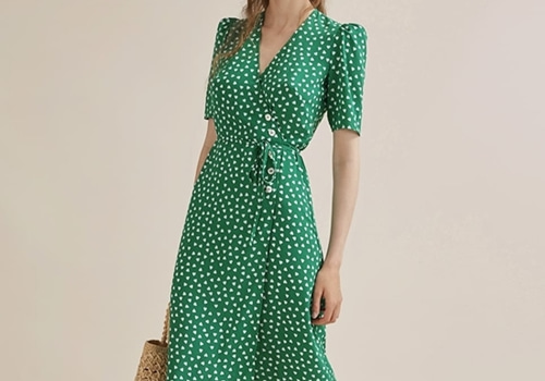 [ROUJE]GABIN dress_green