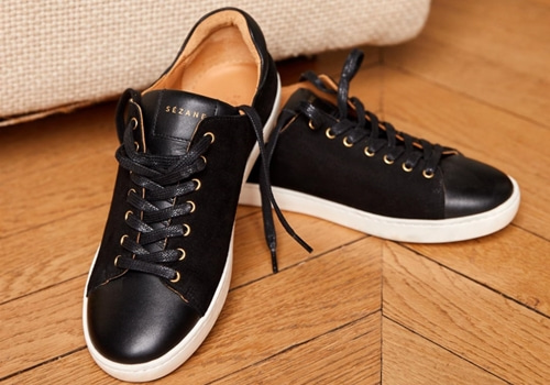 [Sezane]Jack sneakers_BLACK