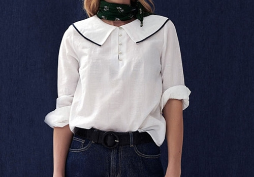 [BALZAC PARIS]STEPHANIE BLOUSE NATURAL WHITE