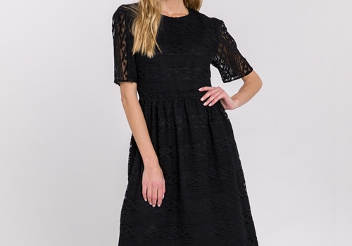 [ENDLESS ROSE]Lace Midi Dress