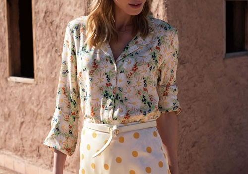 [BALZAC PARIS] GEORGE SHIRT DAISY PRINT