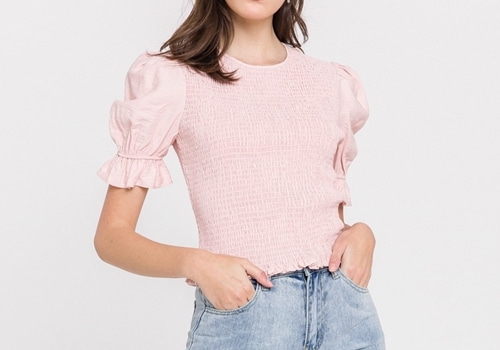 [FREE THE ROSE] Solid Regular Top