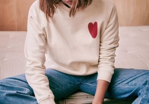 [Sezane]WOMEN'S HEART SWEATSHIRT
