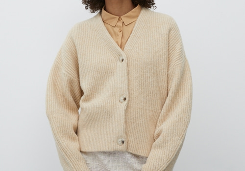 [EDITED THE LABEL]Cardigan Susan_IVORY