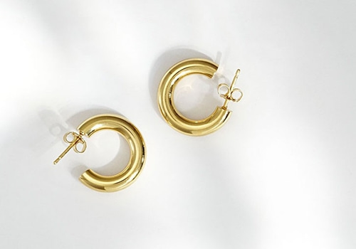 [LOUISE DAMAS]Charlotte Small hoops