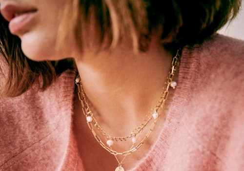 [Sezane] CHARLOTTE NECKLACE_MOTHER OF PEARL