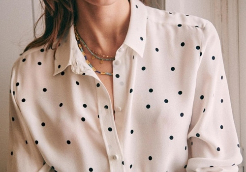 [Sezane]ANN SHIRT_BLACK DOT